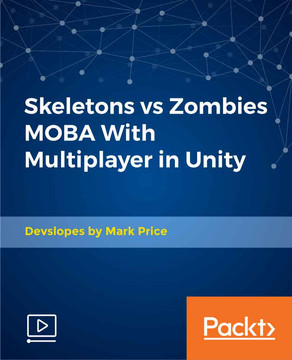 Skeletons vs Zombies MOBA With Multiplayer in Unity