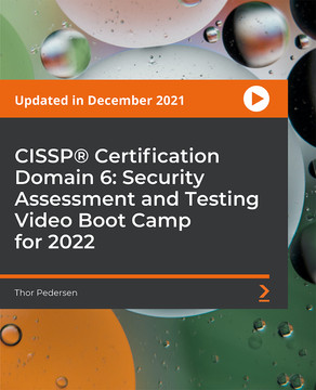 CISSP® Certification Domain 6: Security Assessment and Testing Video Boot Camp 2019