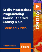 Cover of Kotlin Masterclass Programming Course: Android Coding Bible