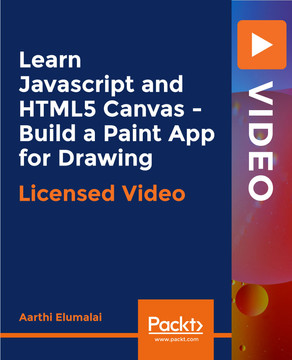 Learn Javascript and HTML5 Canvas - Build a Paint App for Drawing