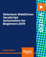 Selenium WebDriver: JavaScript Automation for Beginners 2019