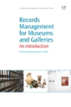 Records Management for Museums and Galleries