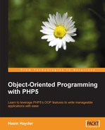 Cover of Object-Oriented Programming with PHP5