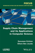 Cover of Supply Chain Management and its Applications in Computer Science