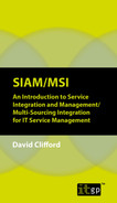 Cover of SIAM/MSI: An Introduction to Service Integration and Management/ Multi-Sourcing Integration for IT Service Management