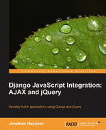 Cover of Django JavaScript Integration: AJAX and jQuery