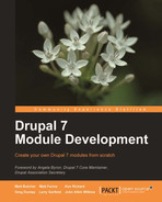 Cover of Drupal 7 Module Development