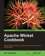 Cover of Apache Wicket Cookbook