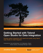 Cover of Getting Started with Talend Open Studio for Data Integration