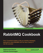 Cover of RabbitMQ Cookbook