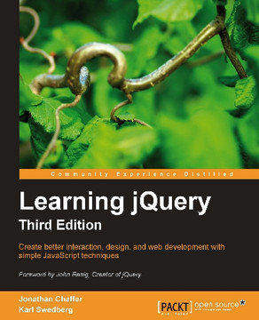 Learning jQuery Third Edition