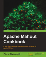 Cover of Apache Mahout Cookbook