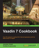 Cover of Vaadin 7 Cookbook