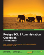 Cover of PostgreSQL 9 Administration Cookbook - Second Edition