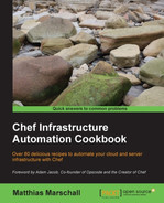 Cover of Chef Infrastructure Automation Cookbook