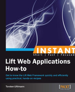 Cover of Instant Lift Web Applications How-to