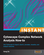 Cover image for Instant Cytoscape Complex Network Analysis How-to
