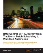 Cover of BMC Control-M 7: A Journey from Traditional Batch Scheduling to Workload Automation