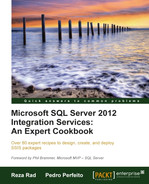 Cover of Microsoft SQL Server 2012 Integration Services: An Expert Cookbook