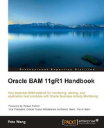 Cover of Oracle BAM 11gR1 Handbook