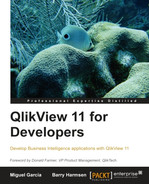 Book cover for QlikView 11 for Developers