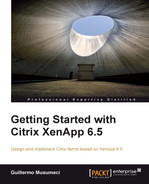 Cover of Getting Started with Citrix XenApp 6.5