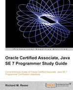 Cover of Oracle Certified Associate, Java SE 7 Programmer Study Guide