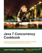 Book cover for Java 7 Concurrency Cookbook
