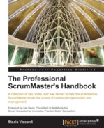 Cover of The Professional ScrumMaster's Handbook