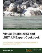 Cover of Visual Studio 2013 and .NET 4.5 Expert Cookbook