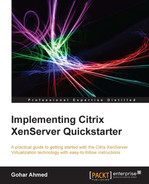 Cover of Implementing Citrix XenServer Quickstarter