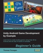 Cover of Unity Android Game Development by Example Beginner's Guide