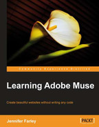 Cover of Learning Adobe Muse