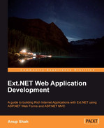 Cover of Ext.NET Web Application Development