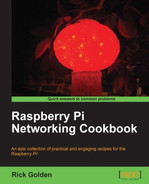 Cover of Raspberry Pi Networking Cookbook