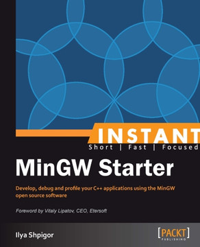 People and places you should get to know - Instant MinGW Starter [Book]