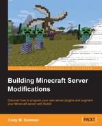 Book cover for Building Minecraft Server Modifications