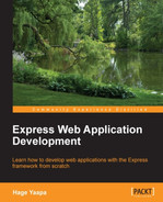 Cover of Express Web Application Development