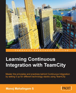 Cover of Learning Continuous Integration with TeamCity