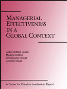 Cover of Managerial Effectiveness in a Global Context