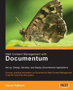 Cover of Web Content Management with Documentum