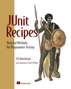 Cover of JUnit Recipes: Practical Methods for Programmer Testing