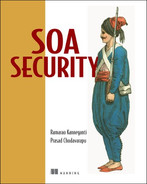 Cover of SOA Security