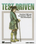 Cover of Test Driven: Practical TDD and Acceptance TDD for Java Developers