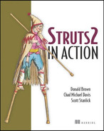 Cover of Struts 2 in Action