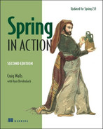 Cover of Spring in Action, Second Edition