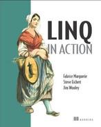 Cover of LINQ in Action