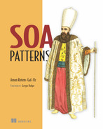 Cover of SOA Patterns