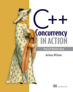 Cover of C++ Concurrency in Action: Practical Multithreading