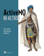 Cover of ActiveMQ in Action